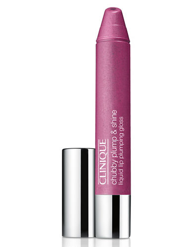 Clinique Chubby Plump and Shine Liquid Lip Plumping Gloss-GOLIATH GRAPE-One Size