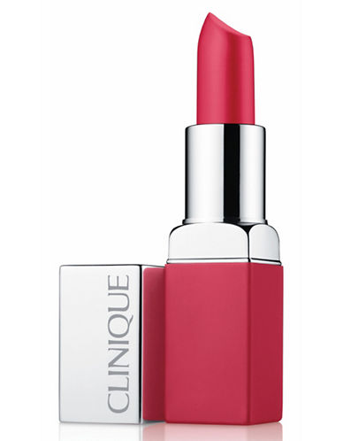 Clinique Pop Matte Lip Colour and  Primer-CORAL-One Size