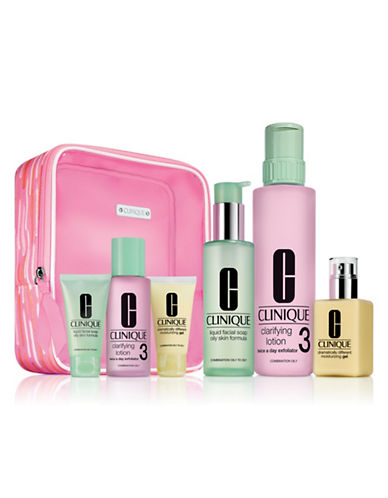Clinique Great Skin Everywhere Six-Piece Set For Oilier Skin - Type III,IV-NO COLOUR-One Size