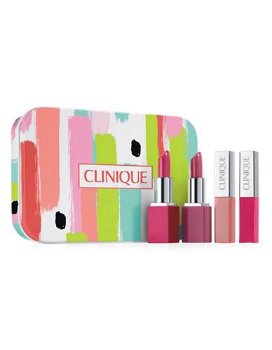 Clinique Lip Pop Five-Piece Mini Set-NO COLOUR-One Size