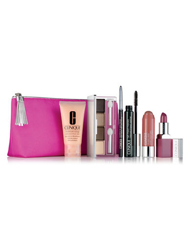Clinique Merry and Bright Six-Piece Makeup and Skincare Set-NO COLOR-One Size