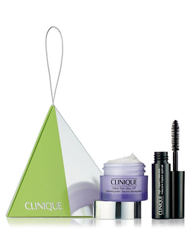 Clinique High Impact Mascara and Take The Day Off Balm Two-Piece Set-NO COLOR-One Size
