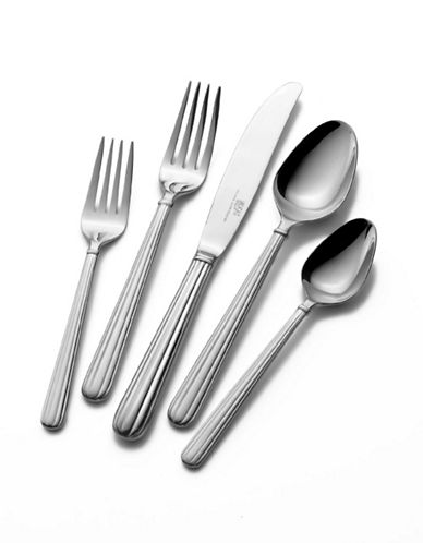 Mikasa Italian Countryside 5 Piece Place Setting-SILVER-One Size