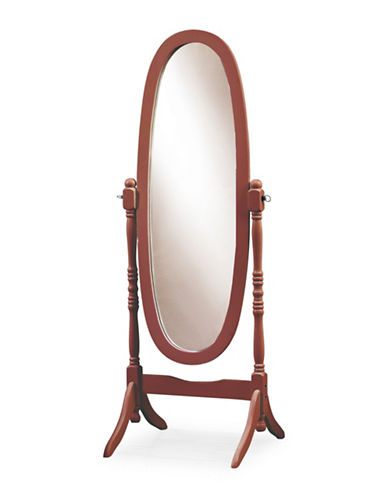 Monarch Cheval Wooden Floor Mirror