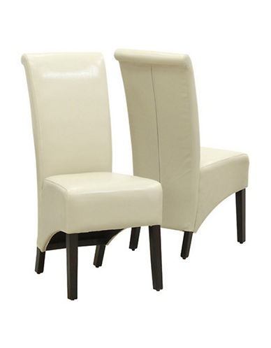Monarch Set of Two Parson Chairs-TAUPE-One Size