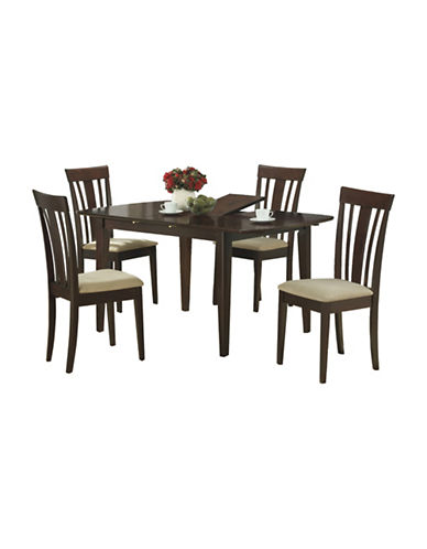 Monarch Cappuccino Dining Table-CAPPUCCINO-One Size