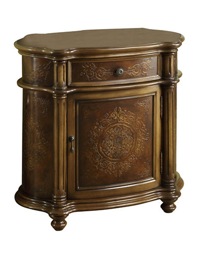 Monarch Traditional Accent Chest-BROWN-One Size