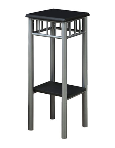 Monarch Tall Accent Table-BLACK-One Size