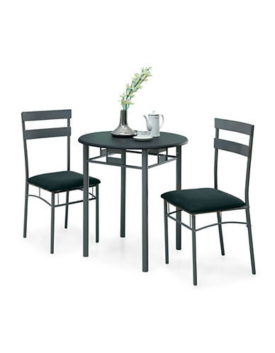 Monarch Three-Piece Dining Set-BLACK-One Size