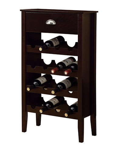 Monarch 16 Bottle Wine Rack-CAPPUCCINO-One Size
