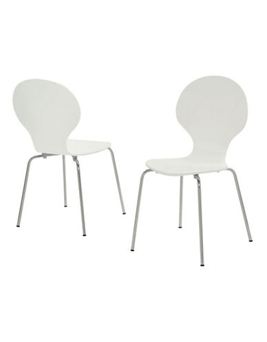 Monarch Four-Piece Dining Chair Set-WHITE-One Size
