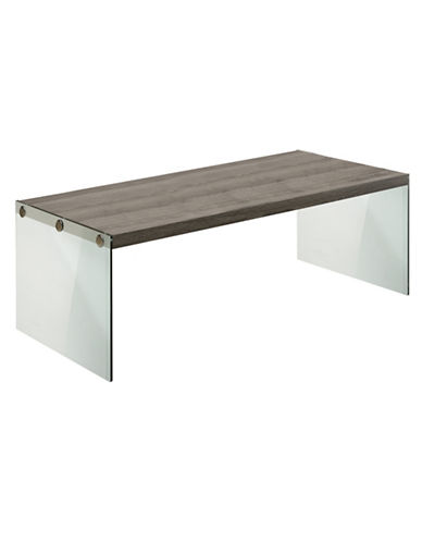 Monarch Reclaimed-Look Coffee Table-DARK TAUPE-One Size