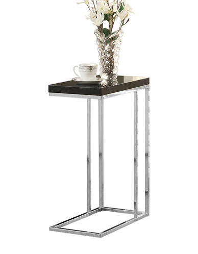 Monarch Rectangular Accent Table-BLACK-One Size