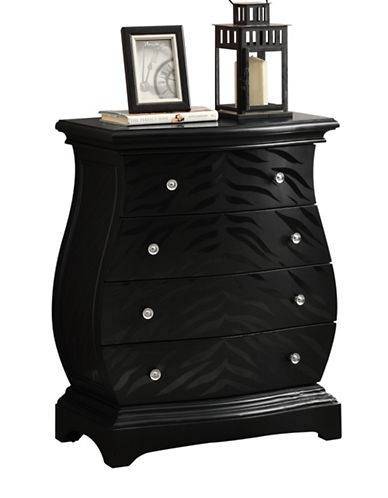Monarch Tiger-Finish Bombay Chest-BLACK-One Size