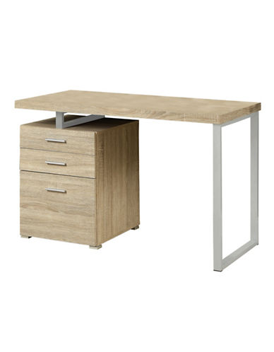 Monarch Left or Right-Facing Floating Desktop Desk-NATURAL-One Size