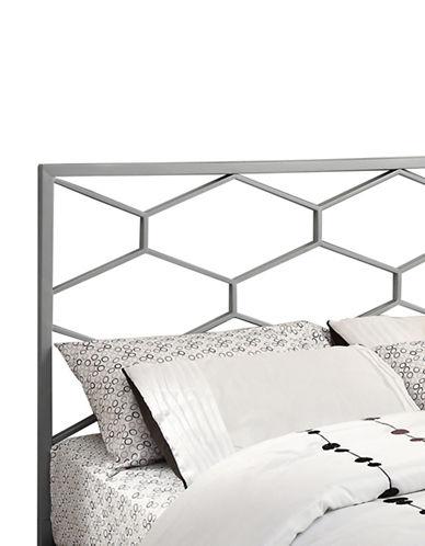 Monarch Honeycomb Headboard-SILVER-Queen