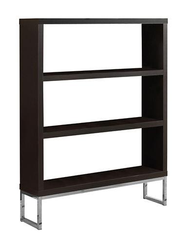 Monarch Room Divider Bookcase-CAPPUCCINO-One Size