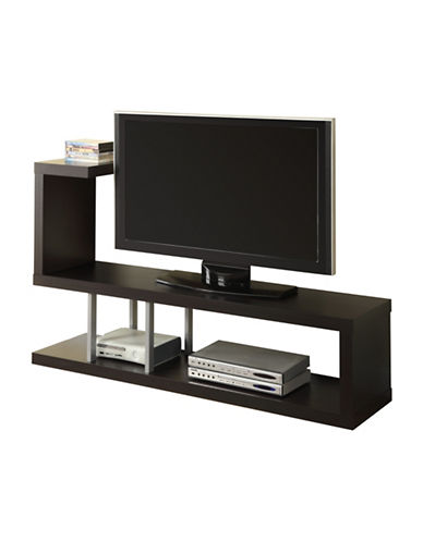 Monarch Open Concept TV Stand-CAPPUCCINO-One Size
