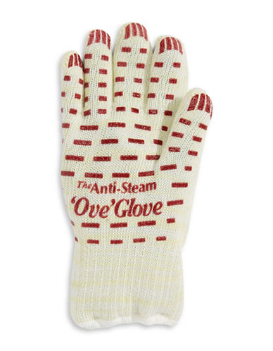 As Seen On Tv Anti-Steam Ove Glove-WHITE-One Size