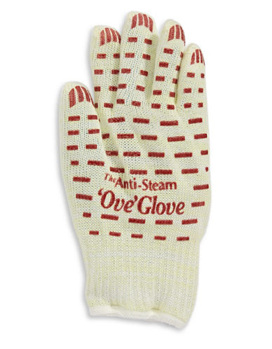 As Seen On Tv Anti-Steam Left Hand Ove Glove-WHITE-One Size