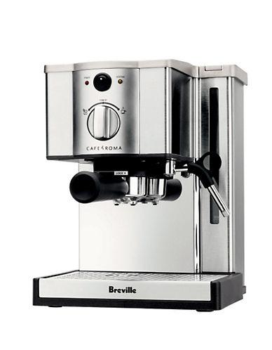 Breville Cafe Roma Espresso Maker-SILVER-One Size