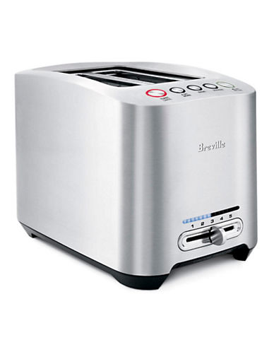 Breville Die Cast 2-Slice Smart Toaster-SILVER-One Size