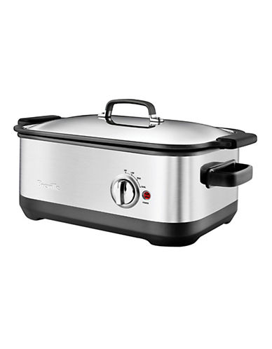 Breville 7.5L Slow Cooker-SILVER-One Size