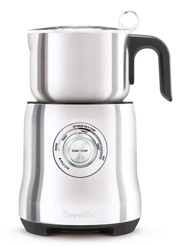 Breville The Milk Cafe Milk Frother-SILVER-One Size