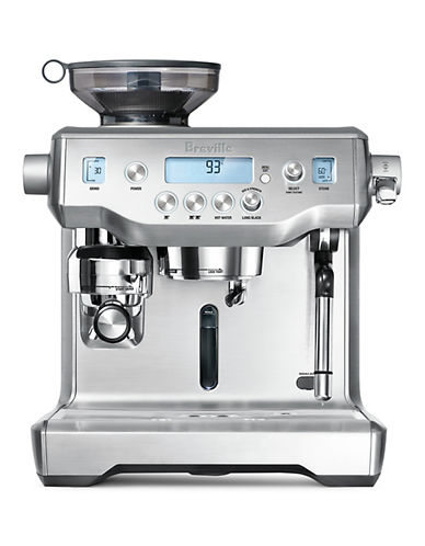 Breville The Oracle Stainless Steel Coffee Machine-STAINLESS STEEL-One Size