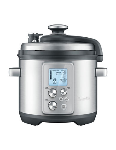 Breville The Fast Slow Pro Multi Pressure Cooker-STAINLESS STEEL-One Size