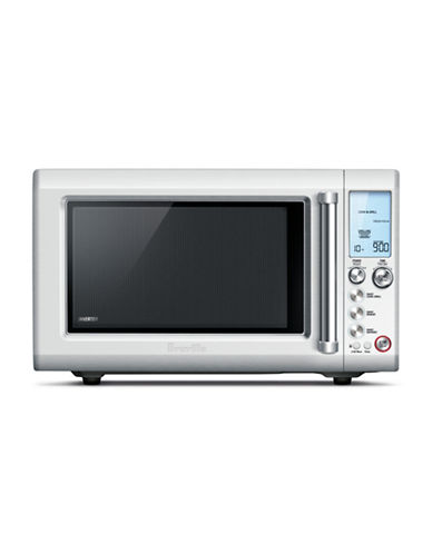 Breville Quick Touch 900W Microwave-BRUSHED STEEL-One Size