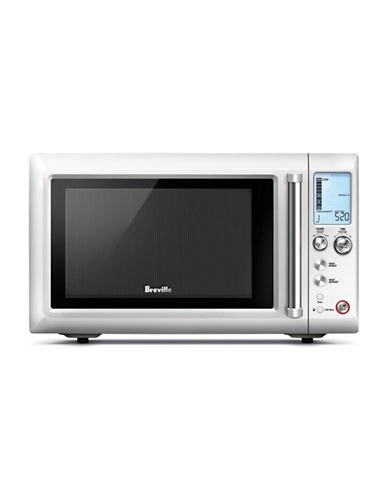 Breville Quick Touch Compact Microwave Oven-SILVER-One Size