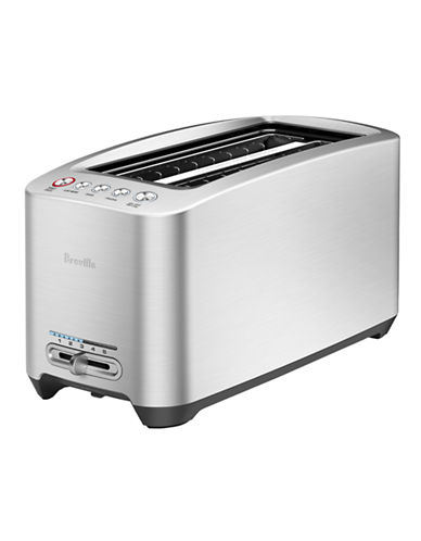 Breville Die-Cast Smart Toaster with 2-long slots-STAINLESS STEEL-One Size