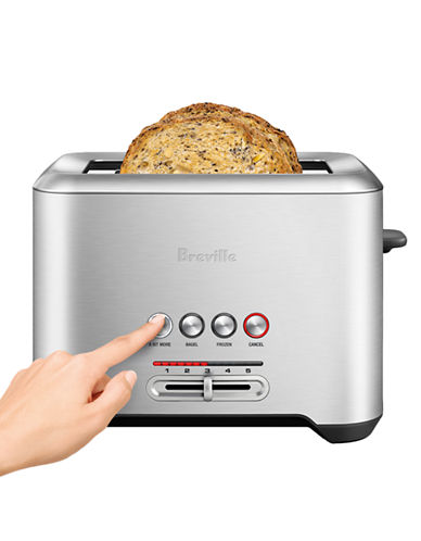 Breville The Bit More toaster 2 slice-STAINLESS STEEL-One Size