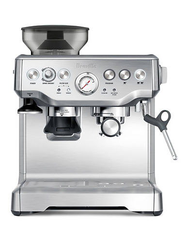 Breville Barista Express Espresso Maker-BRUSHED STAINLESS STEEL-One Size