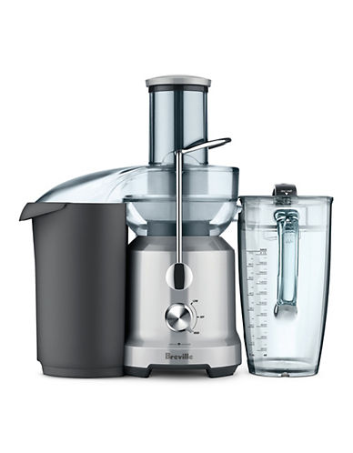 Breville The Juice Fountain Cold Juicer-POWDERED SILVER-One Size