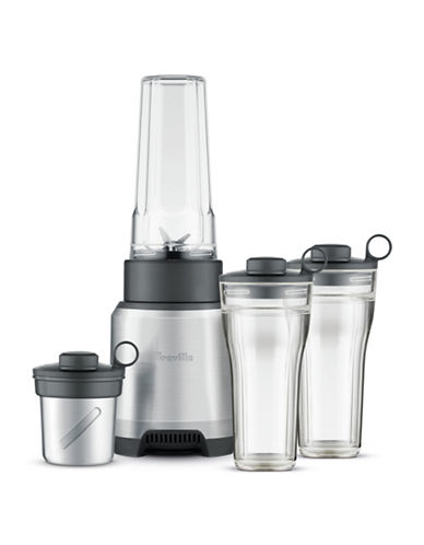 Breville The Boss to Go Personal Blender and Grinder-DIE CAST METAL-One Size