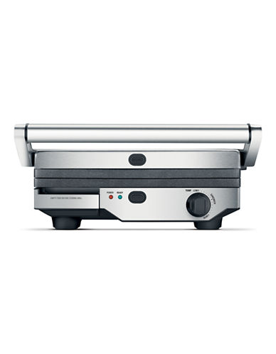 Breville The Quick Clean Grill-SILVER-One Size