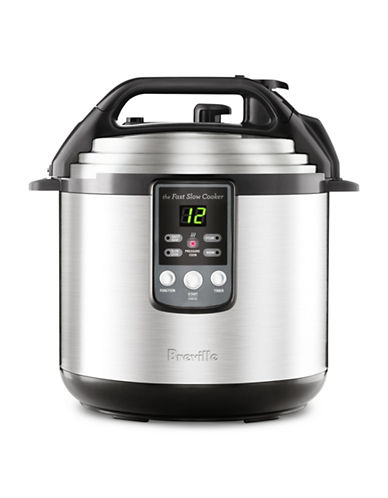 Breville The Fast-Slow Cooker-STAINLESS STEEL-One Size