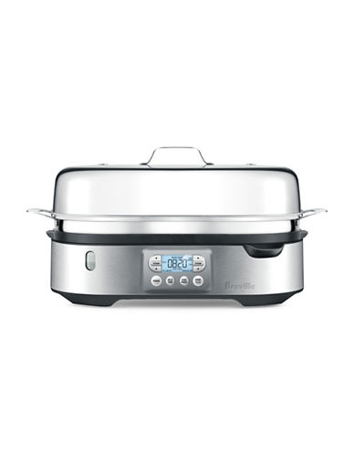 Breville Steam Zone Dual Steamer-STAINLESS STEEL-One Size