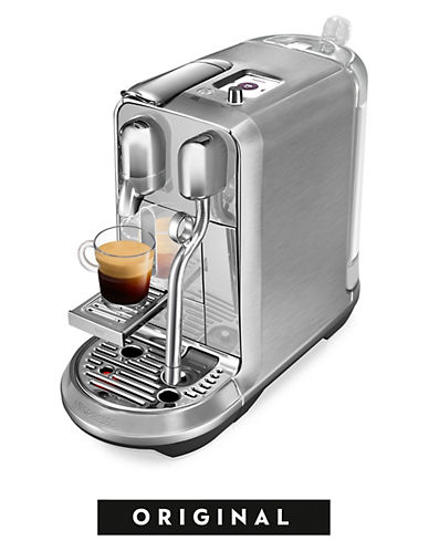 Nespresso Breville Creatista Plus Coffee Machine-STAINLESS STEEL-One Size
