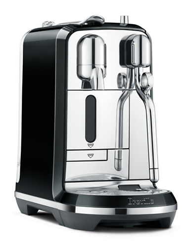 Nespresso Breville Creatista Coffee Machine-BLACK-One Size
