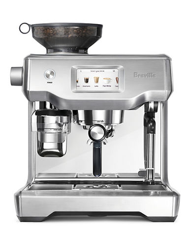 Breville The Oracle Touch Stainless ST-Shirtl Coffee Machine-STAINLESS STEEL-One Size