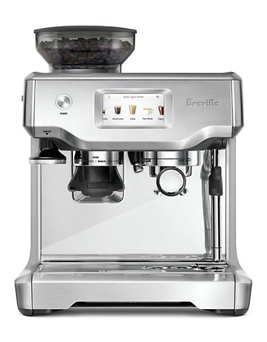 Breville The Barista Touch Stainless Steel Coffee Machine-STAINLESS STEEL-One Size