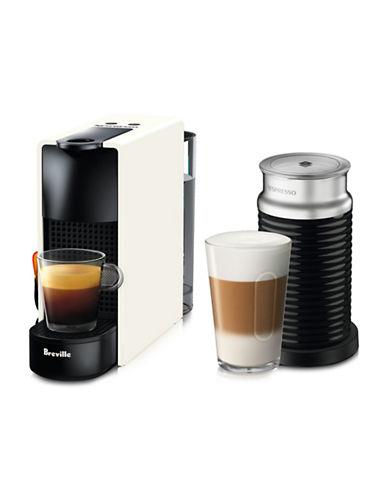 Nespresso Essenza Mini Machine with Aeroccino-WHITE-One Size