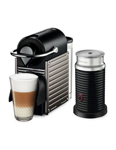 Nespresso Pixie Coffee Machine and Milk Frother-TITAN-One Size