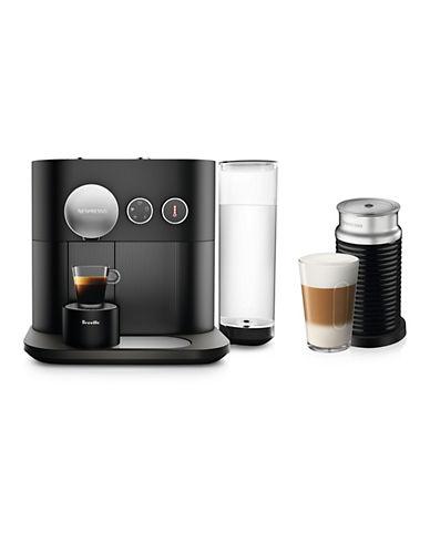 Breville Nespresso Expert by Breville Espresso Machine with Aeroccino 3-BLACK-One Size