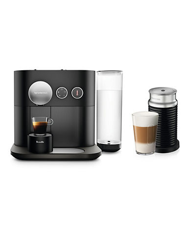 Breville Nespresso Expert by Breville Espresso Machine with Aeroccino 3-BLACK-One Size 89531228_BLACK_One Size