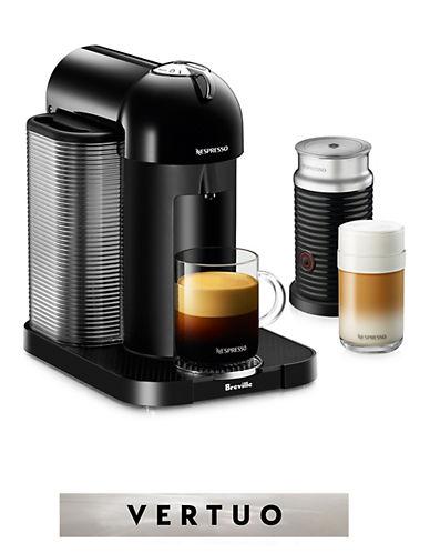 Nespresso Vertuo Coffee Machine with Aeroccino-BLACK-One Size
