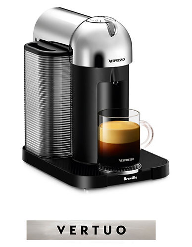 Nespresso Vertuo Coffee Machine-CHROME-One Size